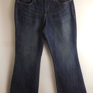 5164....Faded Glory Bootcut Jeans Size 14